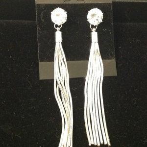 Multi Strand Tassel Earrings